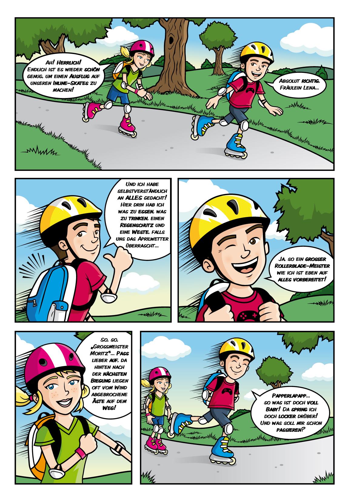 Kindermagazin – Daniel Spreitzer