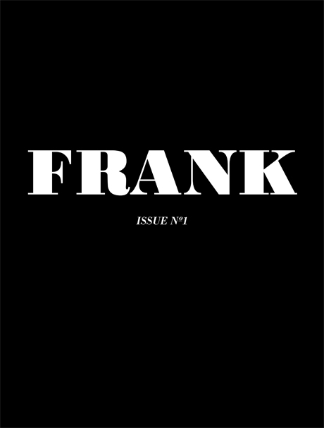 FRANK Magazine issue 01 Titel