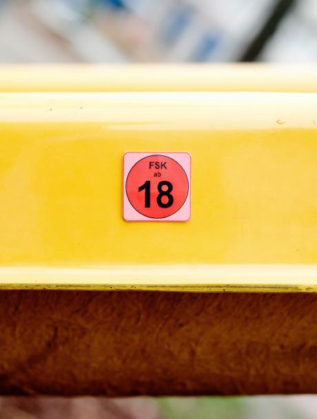 FSK18 Rutsche Detail