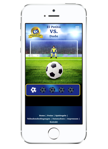 TUC Fussball-Liga App mobil Screen 03