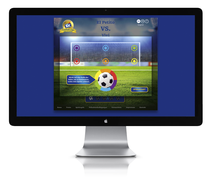 TUC Fussball Liga App Screen 02