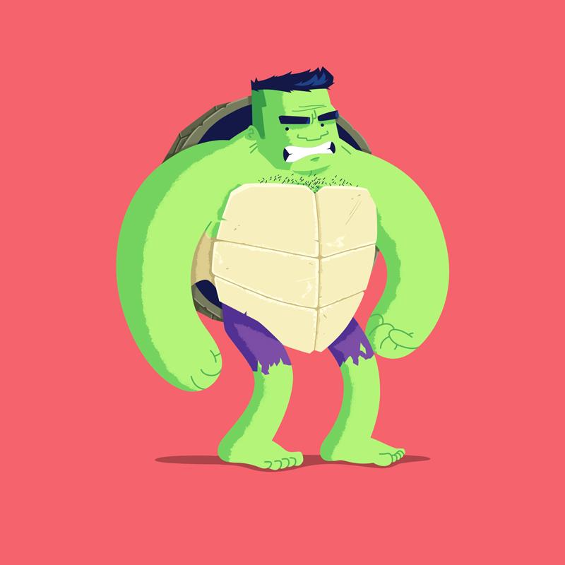 Heroes in a Half Shell Hulk