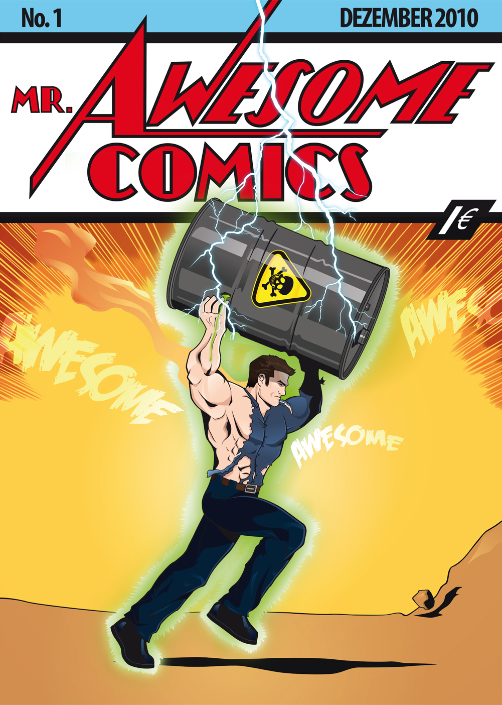 Mr. Awesome Comics No1